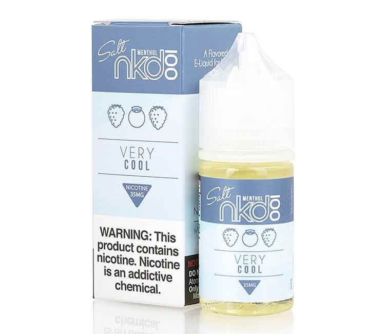 Very Cool by Naked 100 Nic Salt - 30ml
