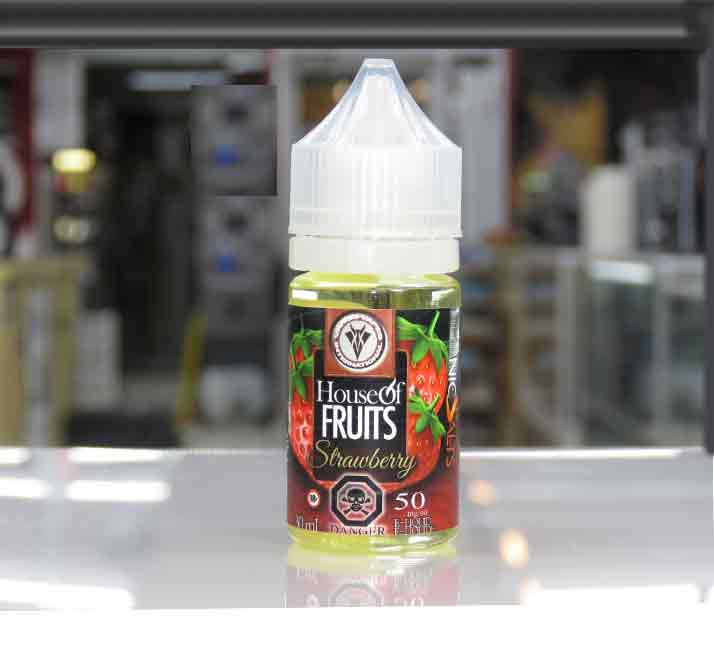 Strawberry by Vango Vapes Nic Salt – 30ml