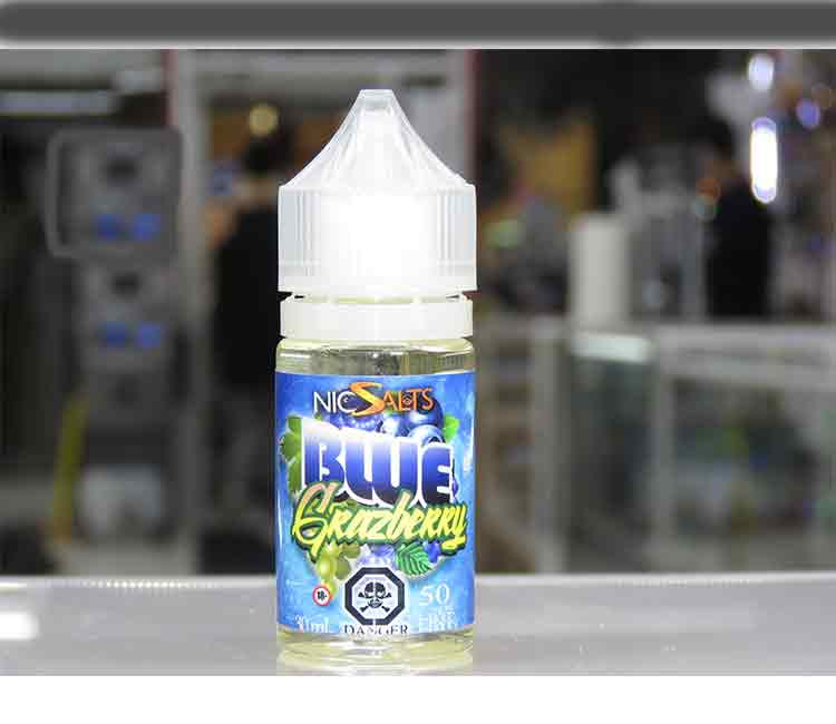 Blue Grazberry by Vango Vapes Nic Salt – 30ml
