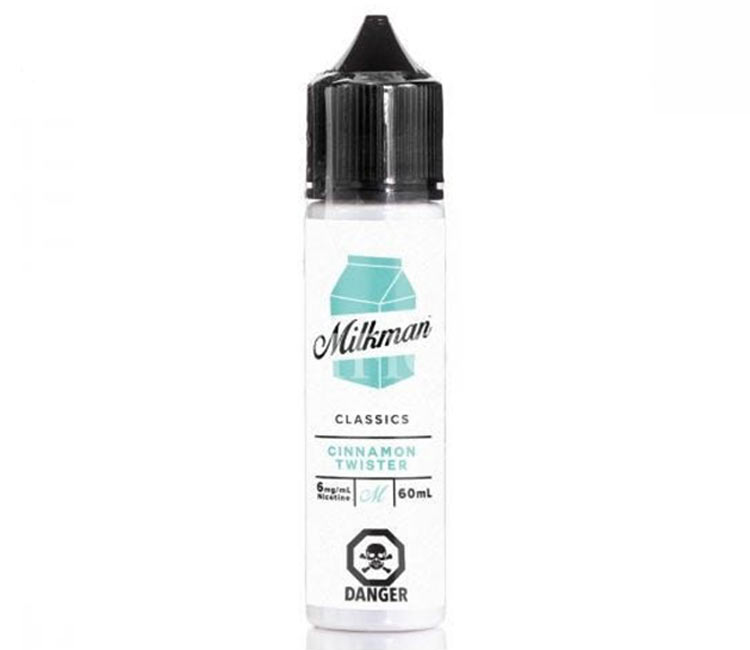 Cinnamon Twister by The Milk Man Free Base - 60ml