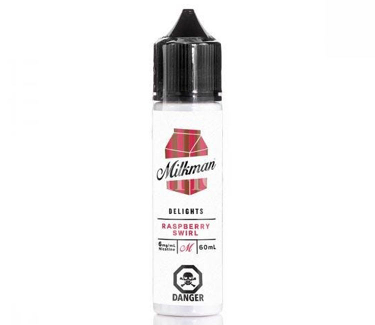 Raspberry Swirl by The Milk Man Free Base - 60ml