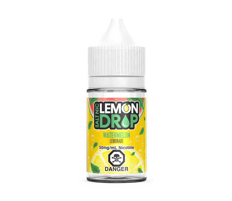 Watermelon Nic Salt E-Liquid by Lemon Drop - 30ml