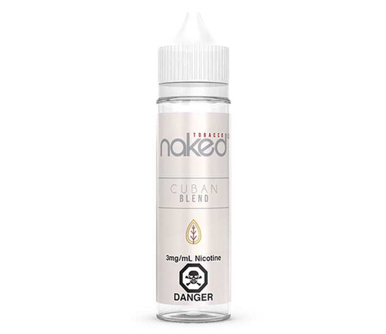 Cuban Blend  Free Base E-Liquid by Naked 100 – 60ml