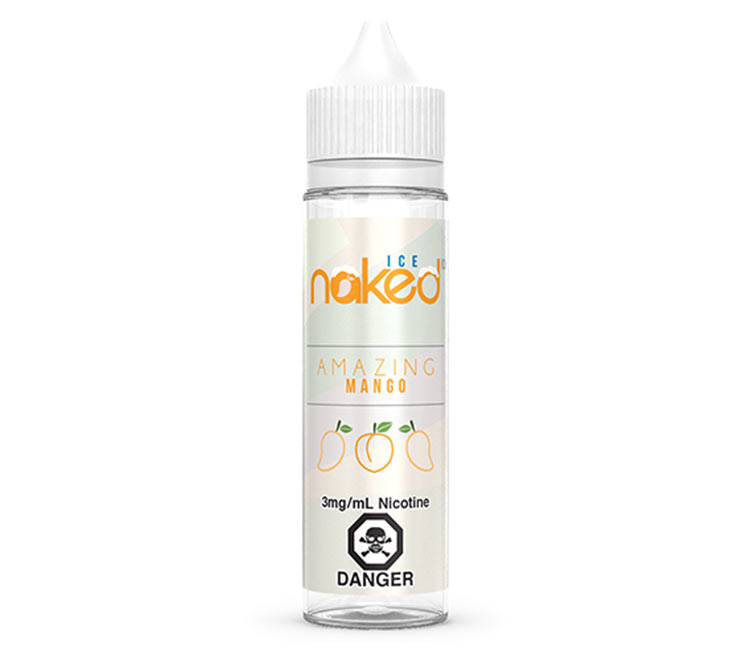 Amazing Mango Ice - Free Base E-Liquid by Naked 100 – 60ml