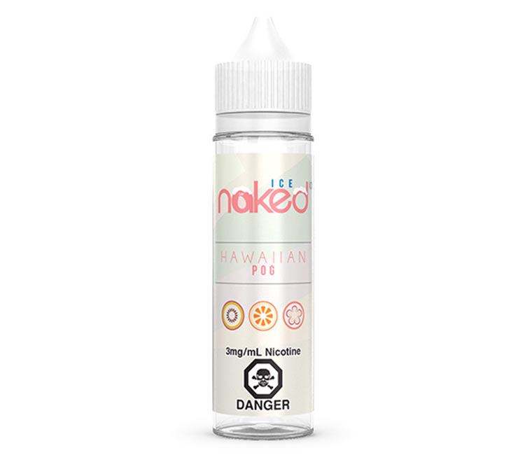 Hawaiian Pog Ice - Free Base E-Liquid by Naked 100 – 60ml