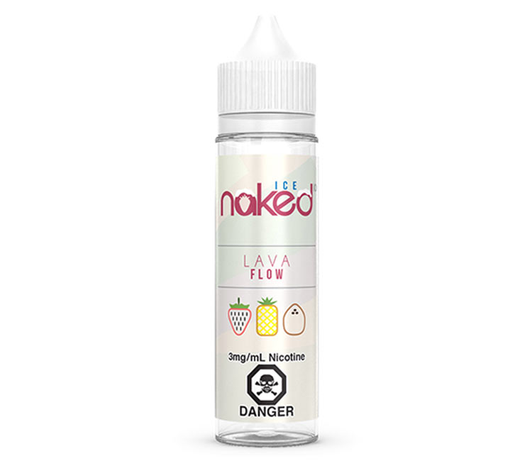 Lava Flow Ice - Free Base E-Liquid by Naked 100 – 60ml