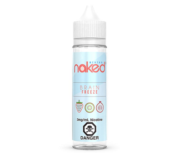 Brain Freeze Free Base E-Liquid by Naked 100 – 60ml