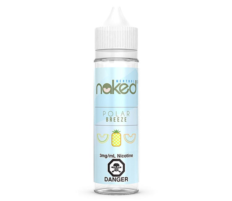 Polar Breeze Free Base E-Liquid by Naked 100 – 60ml