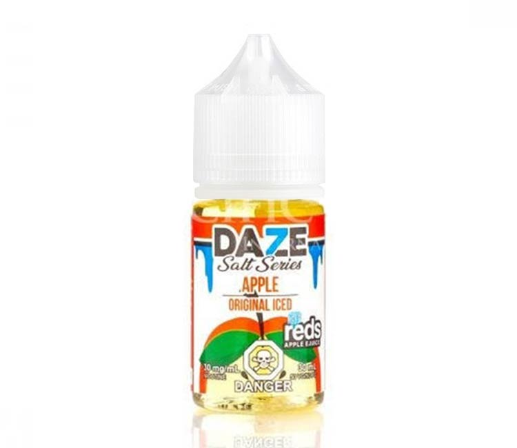 Apple Original Iced - Nic Salt E-Liquid by 7Daze - 30ml