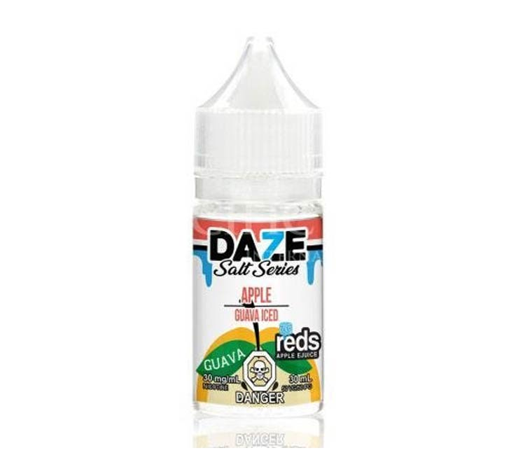 Guava - Apple Iced - Nic Salt E-Liquid by 7Daze - 30ml
