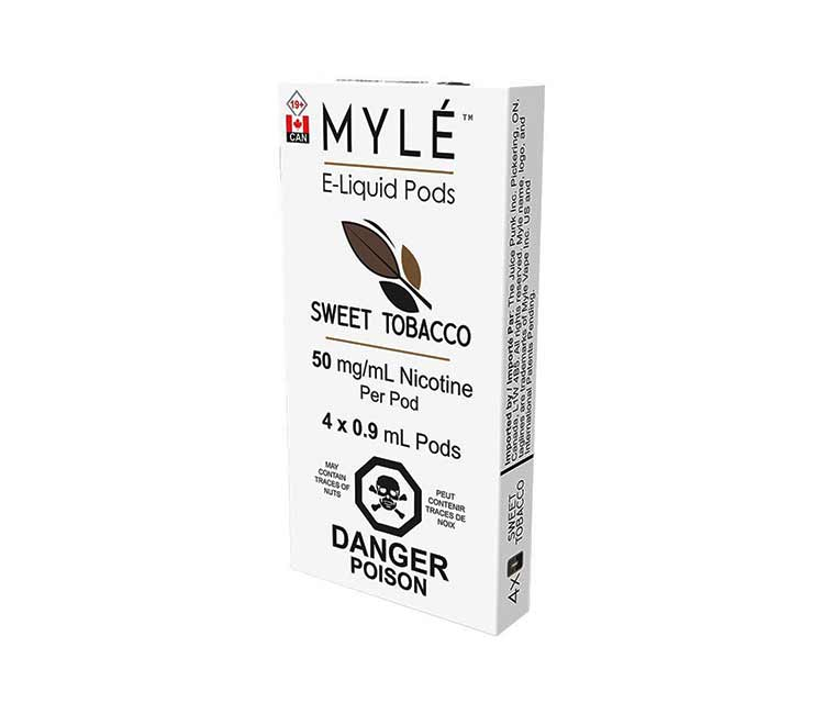 Sweet Tobacco Vape Pods by MYLÉ