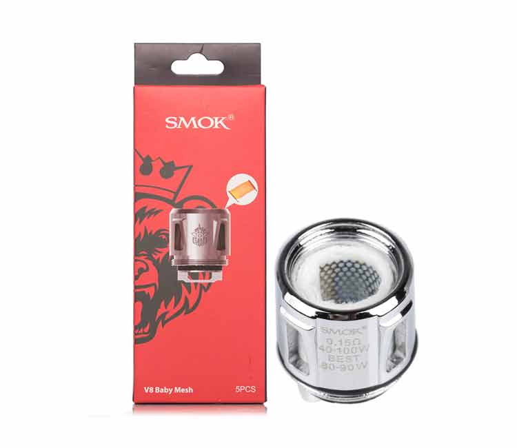 SMOK V8-Baby Mesh Replacement Coil Head