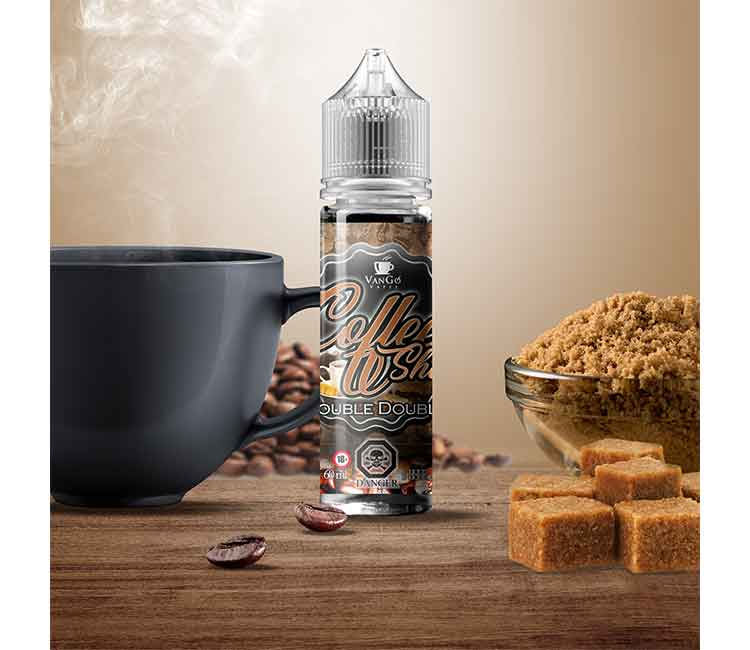 Double Double by Vango Vapes Free Base – 60ml
