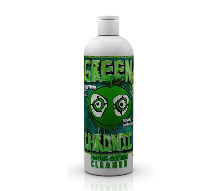 Green Chronic Plastic and Acrylic Cleaner 12oz