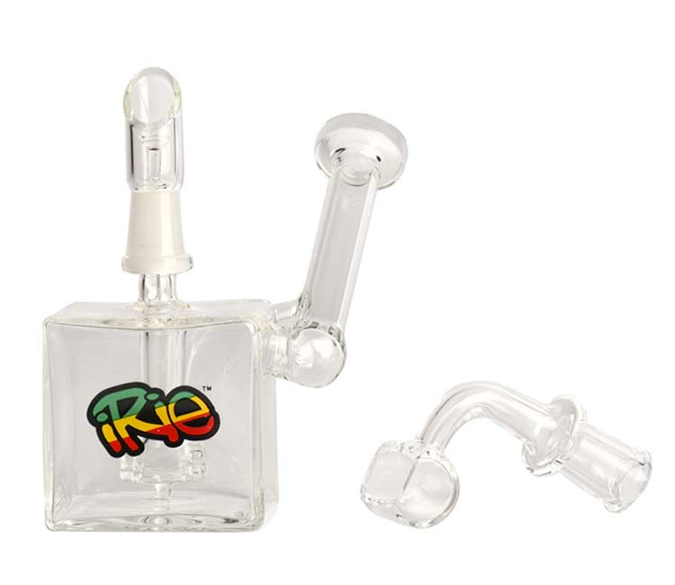 iRie 3.5 inches Zeen Concentrate Bubbler with 10mm Joint