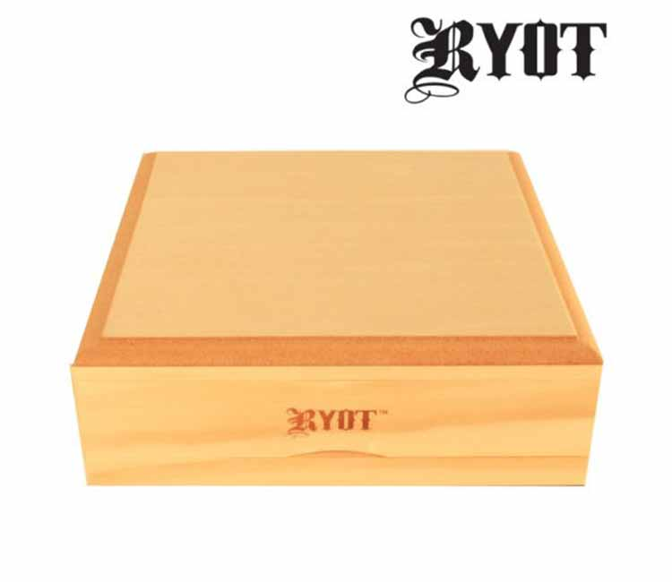 RYOT 7X7 Solid Top Screen Box in Natural