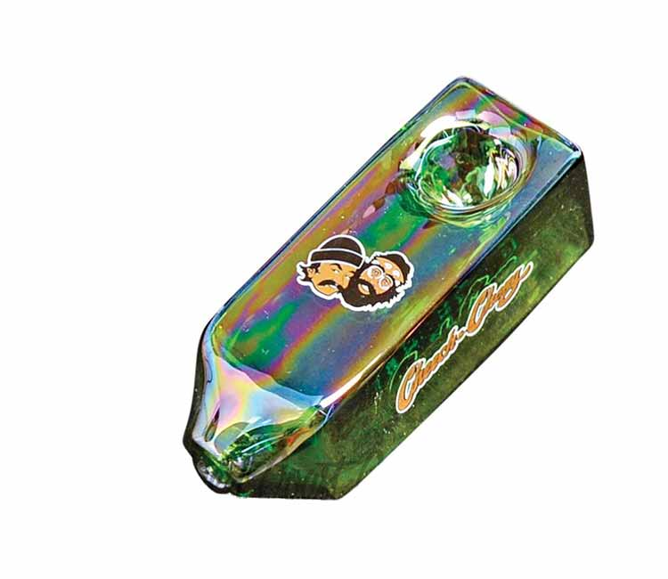 Cheech & Chong Glass Rock Fight Hand Pipe