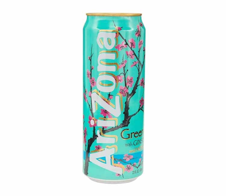 Arizona Green Tea Stash Can 23 oz