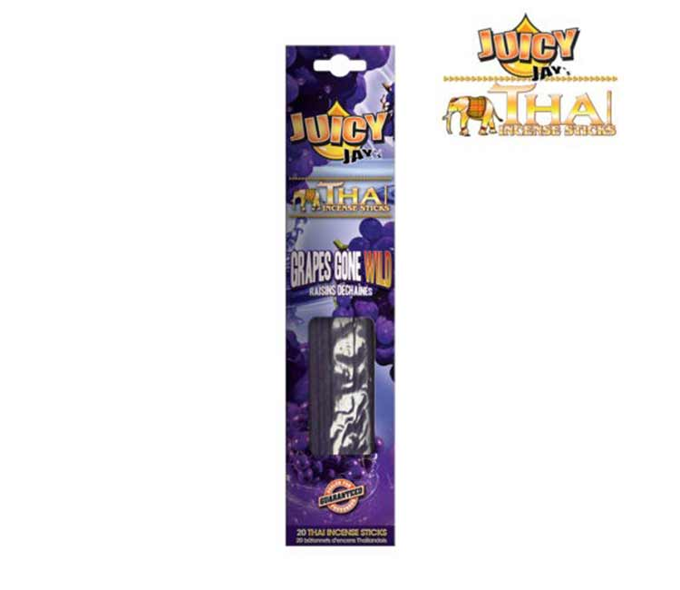 Juicy Jay Thai incense sticks - Grapes Gone Wild