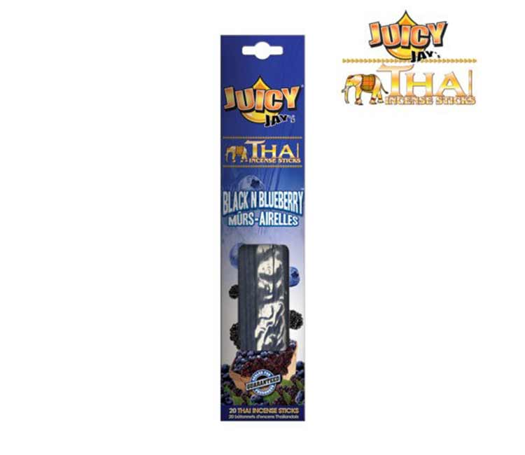 Juicy Jay Thai incense sticks - Black and Blue Berry