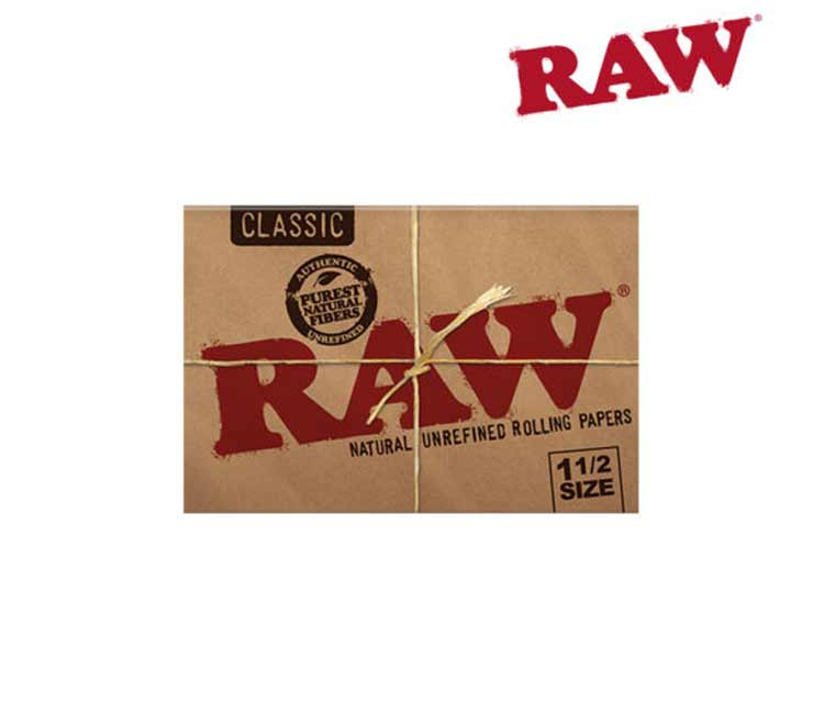 RAW Classic 1½ - Natural Unrefined Rolling Papers