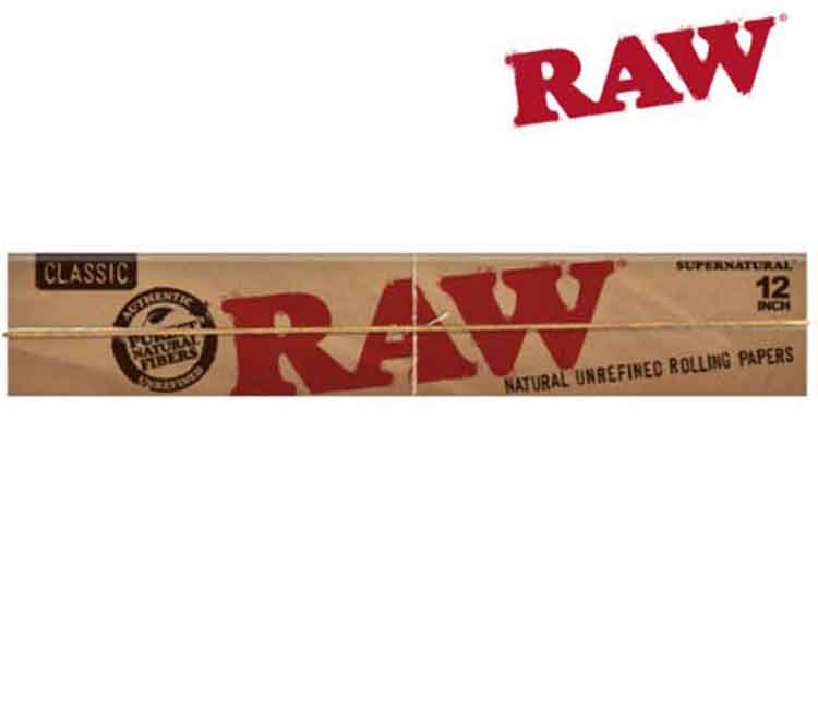 Raw Classic Supernatural Huge 12 Inch Rolling Papers