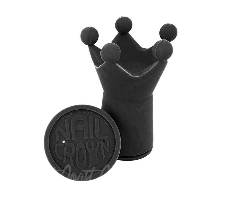 Cruz Culture Nail Crown Heat Changing Silicone Dab Holder