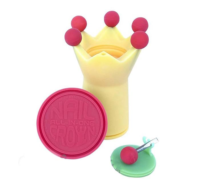 Cruz Culture Heat Changing Crown Silicone Dab Holder W/6 Dab Tools