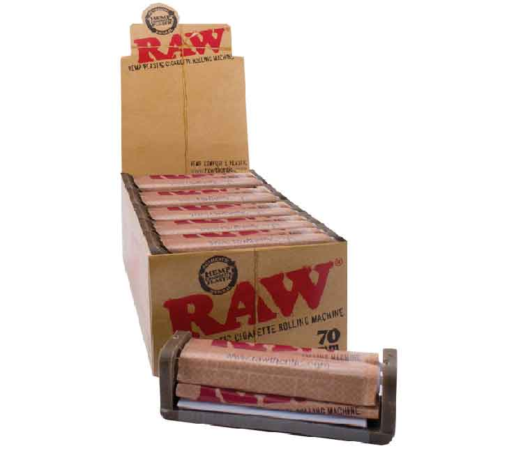 RAW Hemp Plastic Rollers